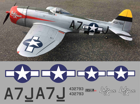 P-47 Lady Grace Graphics Set