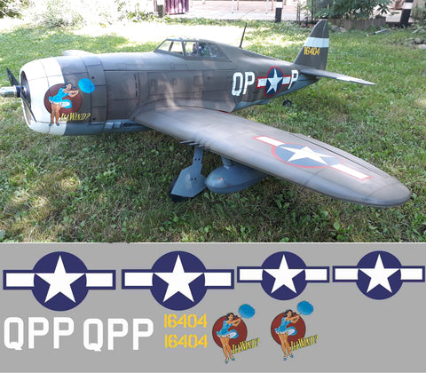 P-47 Lil Wind Graphics Set