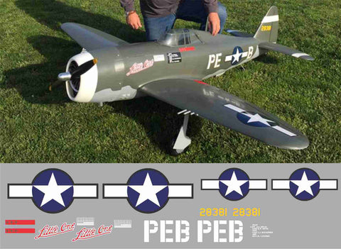 P-47 Little One Graphics Set