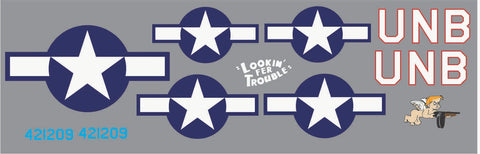 P-47 Lookin' For Trouble Graphics Set