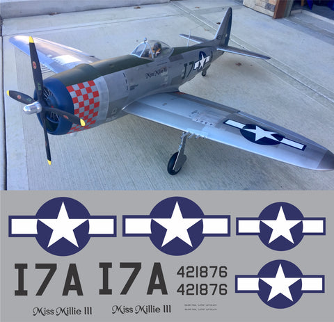 P-47 Miss Millie III Graphics Set