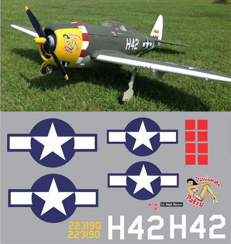 P-47 Passionate Patsy Graphics Set