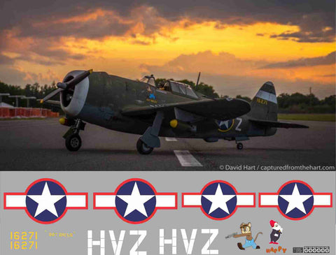 P-47 Rat Racer Graphics Set