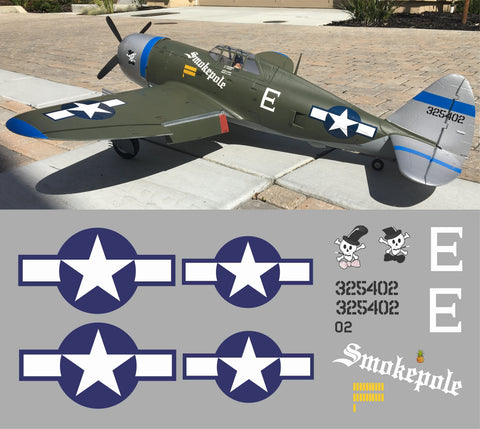 P-47 Smokepole Graphics Set