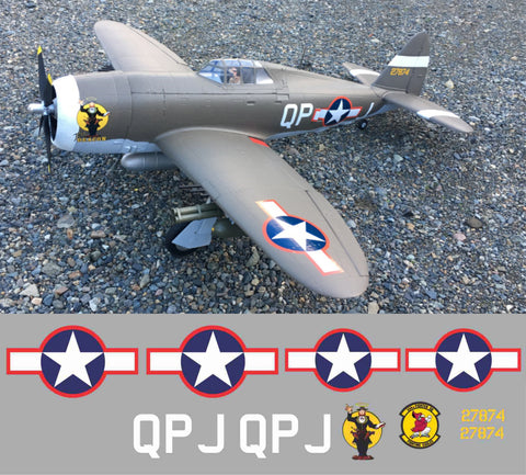 P-47 The Deacon Graphics Set