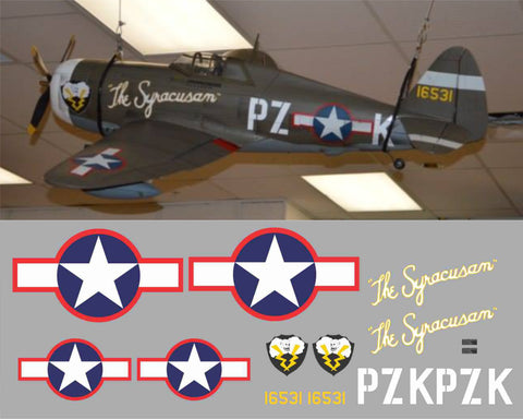 P-47 Syracusan Graphics Set