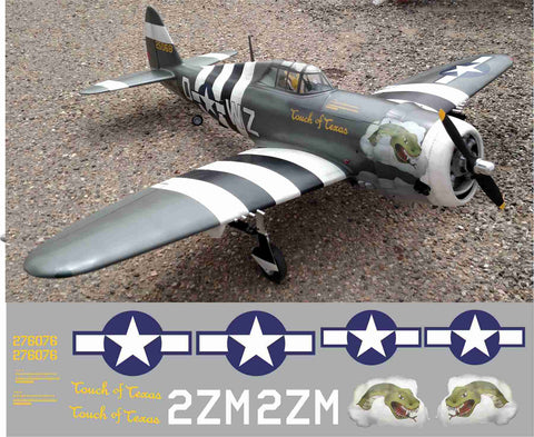 P-47 Touch Of Texas Graphics Set