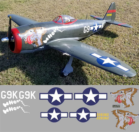 P-47 Whoooooo Graphics Set