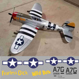 P-47 Wild Bette Graphics Set
