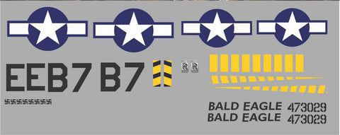 P-51D Bald Eagle Graphics Set
