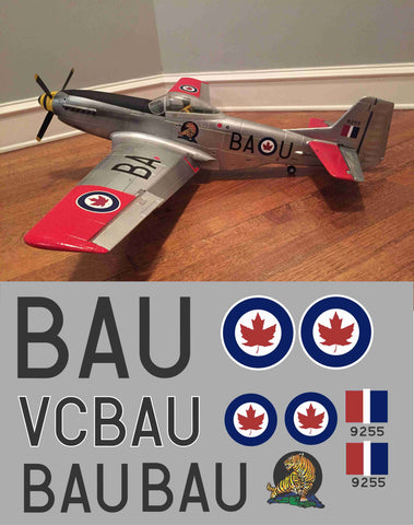 P-51D #9255/BAU Graphics Set