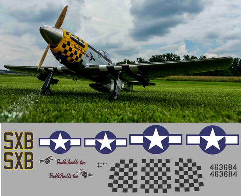 P-51D Double Trouble Two Graphics Set