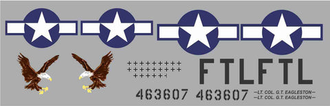 P-51D Feeble Eagle Graphics Set