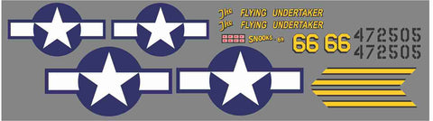P-51D Flying Undertaker Graphics Set