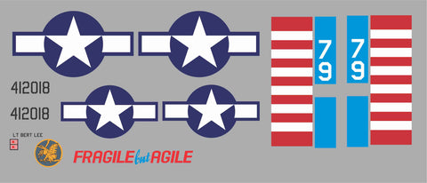 P-51 Fragile but Agile Graphics Set