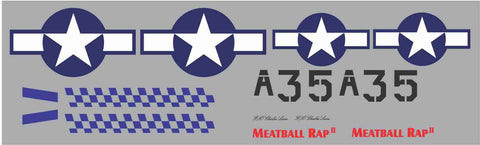 P-51D Meatball Rap II Graphics Set