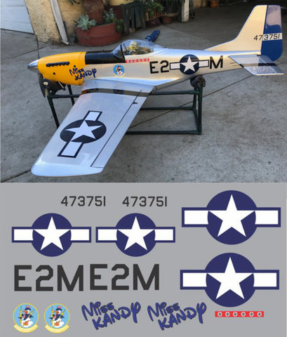 P-51D Miss Kandy Graphics Set