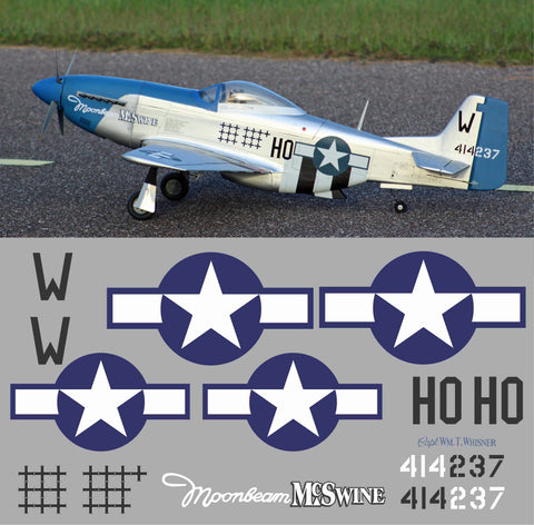 P-51D Moonbeam McSwine Graphics Set