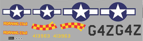 P-51D Morning Star Graphics Set