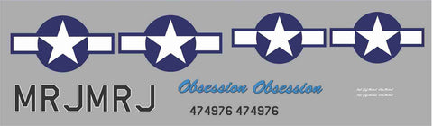 P-51D Obsession Graphics Set