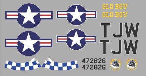 P-51D Old Boy Graphics Set