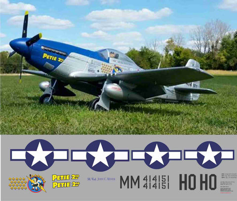 P-51D Petie 2nd Graphics Set