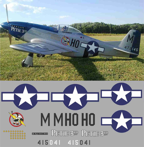 P-51D Petie 3rd Graphics Set