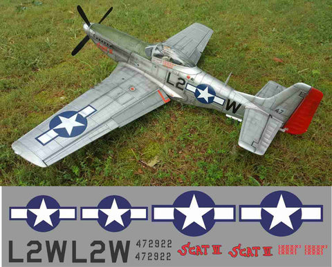P-51D Scat VI Graphics Set