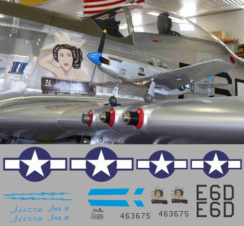 P-51D Sierra Sue II Graphics Set