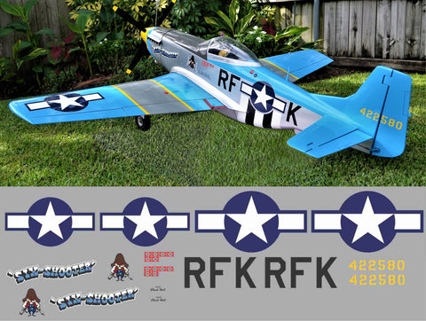 P-51D Six Shooter Graphics Set