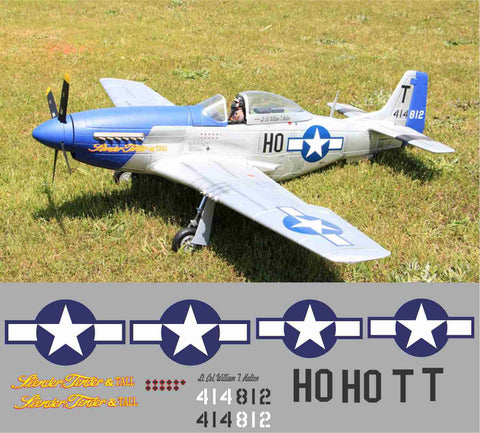 P-51D Slender, Tender & Tall Graphics Set