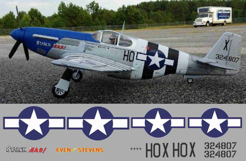 P-51B Stark Mad Graphics Set