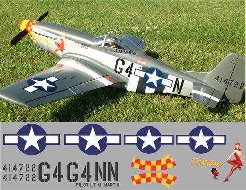 P-51D Temptation Graphics Set