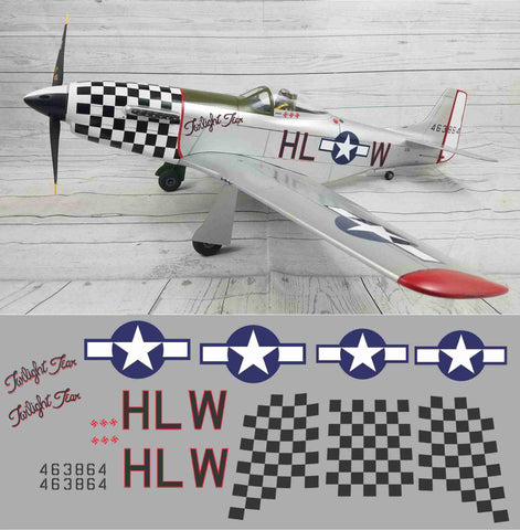 P-51D Twilight Tear Graphics Set