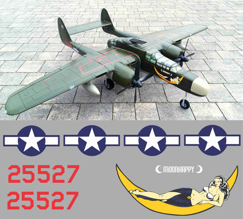 P-61 Moonhappy Graphics Set