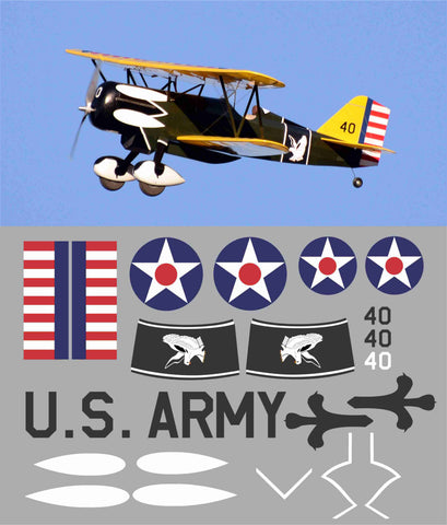 Curtiss P-6E Hawk 17th Pursuit Squadron Graphics Set