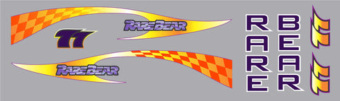 F8F Racer Rare Bear 2009 Graphics Set