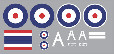 S.E.5a Number 74 Squadron Graphics Set