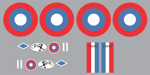 S.E.5a 25th Pursuit Squadron Graphics Set