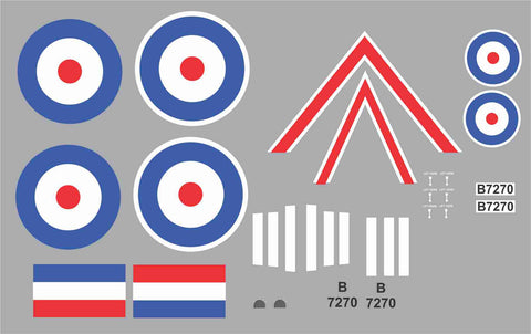 Sopwith Camel B7270 Graphics Set