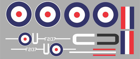 Sopwith Camel F2137 Graphics Set