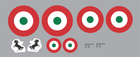 SPAD XIII Italian Air Force Graphics Set