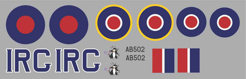 Spitfire IRC AB502 Graphics Set