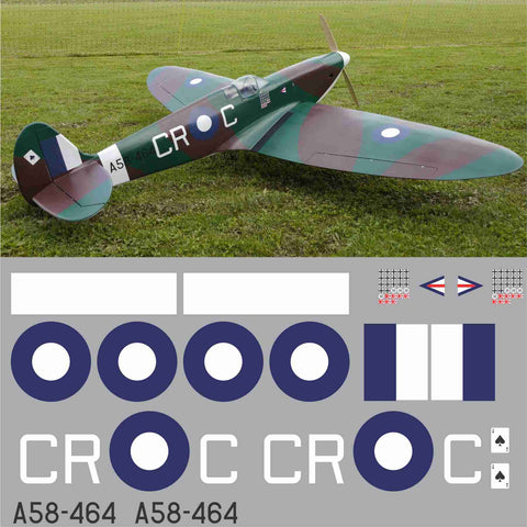 Spitfire RAAF CRC  A58-464 Graphics Set