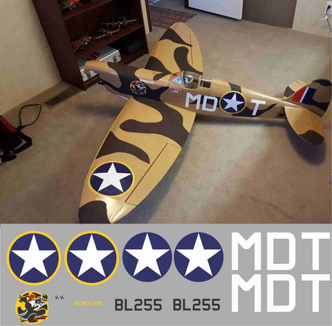 "Spitfire ""Buckeye Don 2"" MDT  BL255 Graphics Set"