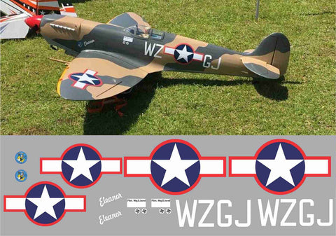 "Spitfire ""Eleanor"" WZGJ Graphics Set"