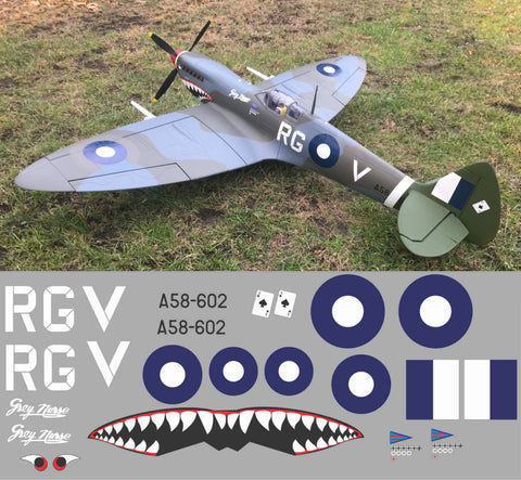 "Spitfire ""Grey Nurse"" RGV A58-602 Graphics Set"