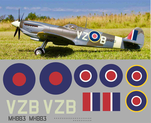 Spitfire VZB MH883 Graphics Set