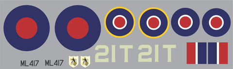 Spitfire ML417 Graphics Set
