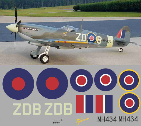 "Spitfire ""Mylcraine"" ZDB  MH434 Graphics Set"